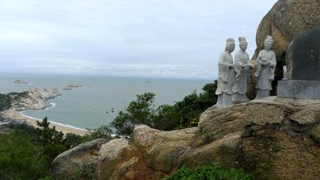 Putian Meizhou Island statue