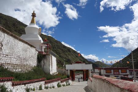 Tsurphu Monastery gate,Lhasa