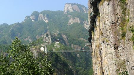 Taizhou Shenxian House walkway, Xianju