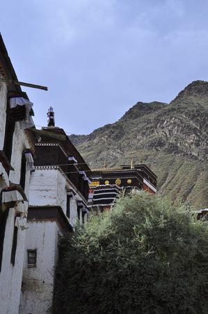 cloister: Tashi Lhunpo Monastery Editorial