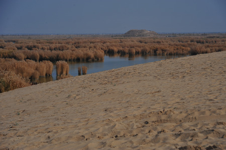 Ningxia Shahu Nature Tourist Area, Ningxia Sand Lake