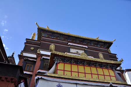 Temple building exterior view 新闻类图片