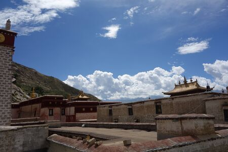 Temple buildings exterior view 新闻类图片
