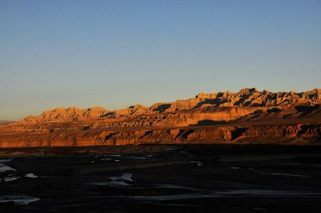 View of a valley landscape 免版税图像
