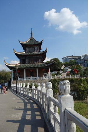 Exterior view of Jiaxiu Building, Guiyang