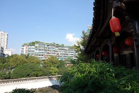 Temple in the city 新闻类图片