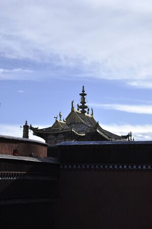 Roof of the temples