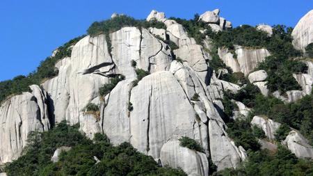 Taimu Mountain landscape scenery view