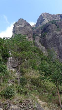 Taizhou shenxian house  peak,Xianju