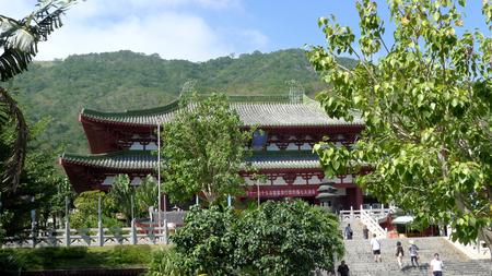 Nanshan Cultural Tourism Area, Sanya Stock Photo
