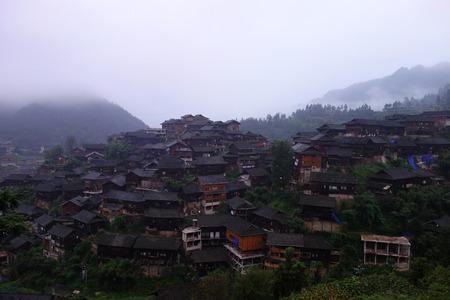 Xijiang Qianhu Miaozhai landscape scenery view