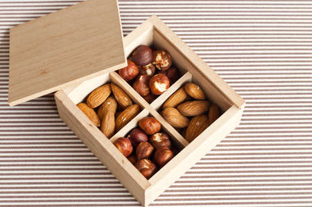 man nuts: Almonds and nuts