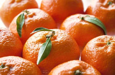 Fruits frais de mandarine