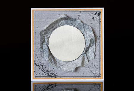 Metal frame photo