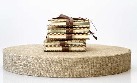 Pile of notebooks Stock Photo - 15833583
