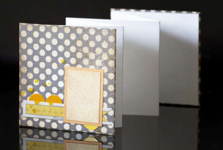 White pages - mini album Stock Photo - 16429831
