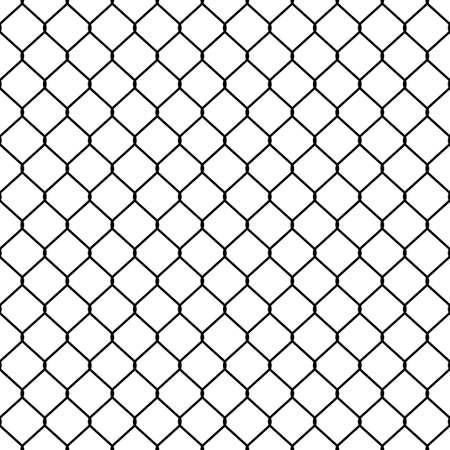 Struktur des Gitterzaun. Nahtlose Muster.