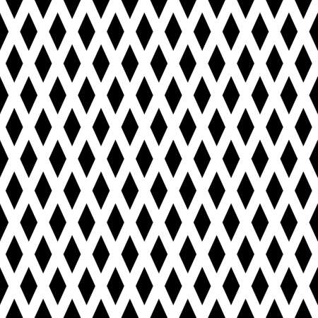 uncolored: Uncolored rhombus. Seamless pattern