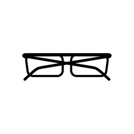 spectacle frame: eyeglasses icon