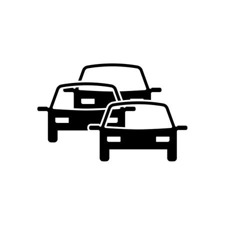 the traffic jam: traffic jam icon