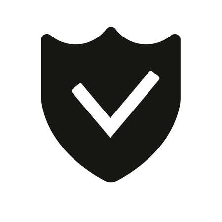 Protection success. simple icon