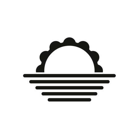 Sunrise simple weather icon