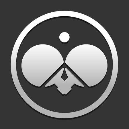 Table tennis icon