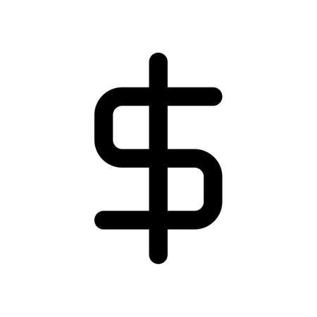 simple dollar symbol