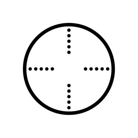 Simple target icon Иллюстрация