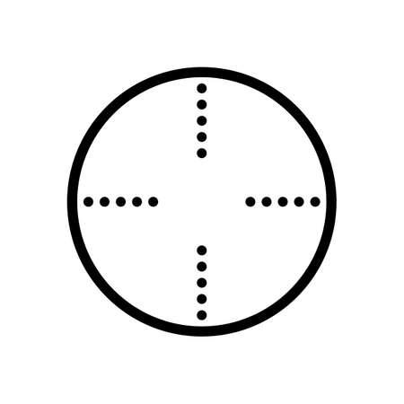 Simple target icon Illustration