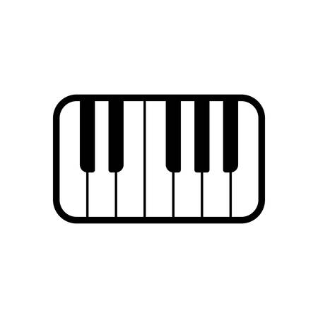 Piano toetsenbord pictogram
