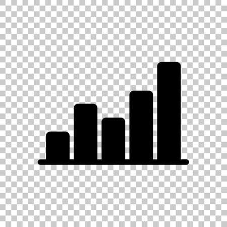 Finance grapgic, grow. On transparent background. Imagens - 121822788