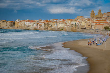 Cefalu, medieval village of Sicily island, Province of Palermo, Italy. Europe