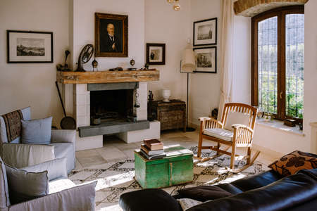 Agriturismo bed and breakfast at Sicily Italy, beautiful historical old farm renovated as BB Sicilia Banco de Imagens