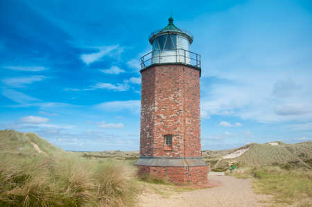 schleswig holstein: Lighthouse at Kampen, Sylt, Schleswig Holstein, Germany Stock Photo