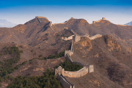 simatai: Great wall of china in jinshanling and simatai