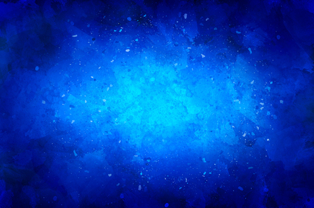 cruddy: Blue background with particles and texture Stock Photo