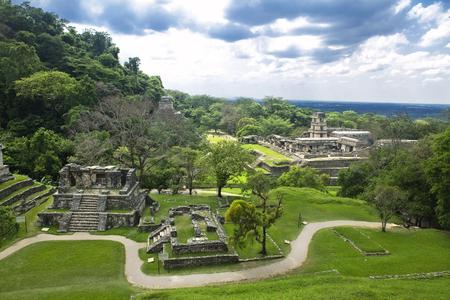 Palenque Chiapas Mexique ruines mayas Banque d'images - 40257703