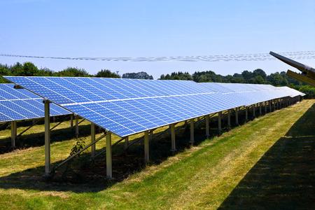 Solar panels Фото со стока