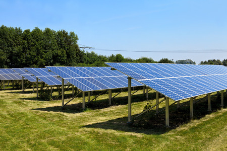 Solar panels Foto de archivo
