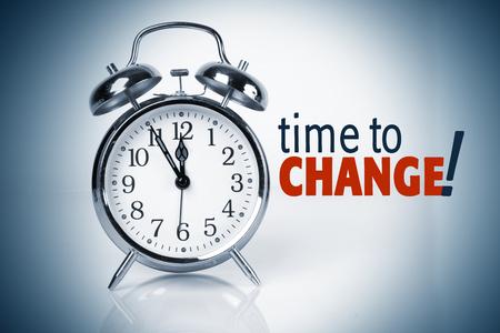 Tijd om te veranderen