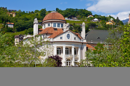meran: The Kurhaus and Theatre of Meran  Italy