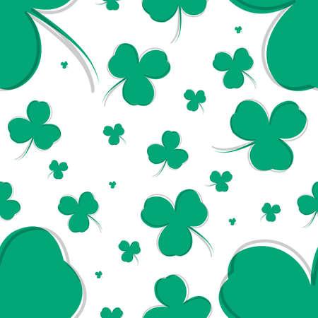 Saint Patricks day seamless background