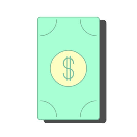 Vector paper money