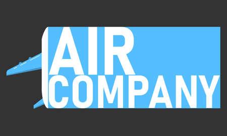 Air company logo template