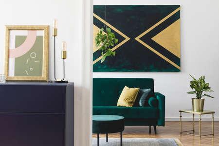 Stylish living room Stockfoto