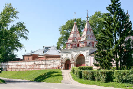 deposition: Holy gates of the Monastery of the Deposition of the Robe, Russia, Suzdal