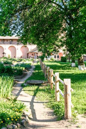 Apothecary Garden The Territory Near The Walls Of The Monastery ...