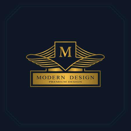 Gold line graphics monogram elegant art logo design letter gold line graphics monogram elegant art logo design letter m graceful template accmission Images