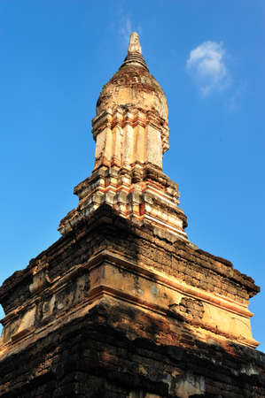 sukhothai: Old pagoda in Sukhothai Stock Photo